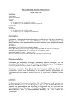 Publikationsliste Brunert (Stand Januar 2020)