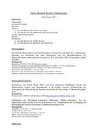Publikationsliste Brunert (Stand Januar 2021)